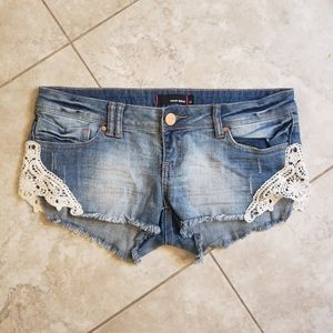 Tally Weijl Jean shorts with lace